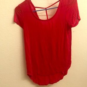 Tops - Bright red t shirt